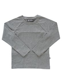 Kaiko - Block Shirt, Dark Grey Mel.