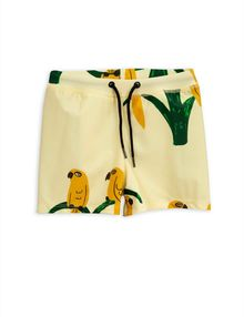 Mini Rodini - Parrot swimpants, Yellow