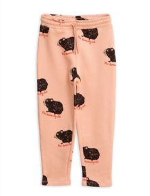 Mini Rodini - Guinea pig sweatpants, Pink