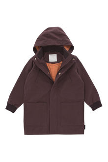 Tinycottons - solid jacket, plum
