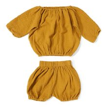 Daily brat - Comfy set, golden yellow