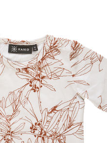 Kaiko - Basic T-shirt LS, Nude Branch