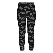 METSOLA - Kids leggings, Blur Silver