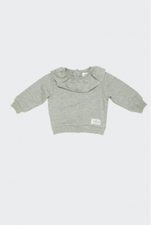 I dig denim - Rise Sweater, Grey melange