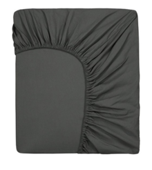 GRAY LABEL -  Fitted Sheet Toddler, Nearly Black
