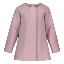 METSOLA - Wool jacket girls, Smoked Pearl