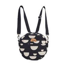 Papu - Beans circle bag, solid black