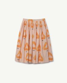 TAO - Jellyfish kids skirt, rose triangles