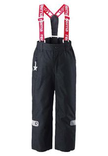 Reima - Reimatec Kiddo lightning pants toppahousut, black