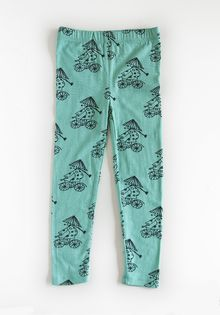 Nadadelazos - Leggings Xe dap, lt watergreen