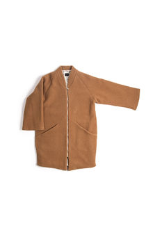 Monkind - Terracotta Wool Coat WOMAN