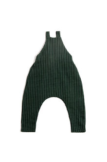 Monkind - Emerald Stripe Dungarees