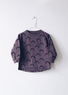 Monkind - Bow Pullover, Liberty Purple