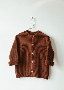 Monkind - Moss Knit Cardigan, Mi-red