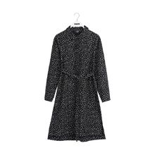 Papu - Shirt dress mini beans, Black, cream