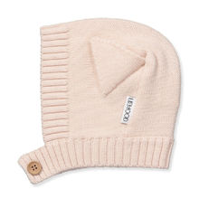 Liewood - Villas knit baby hat cat, pink