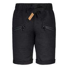 METSOLA - Zipper shorts, Black
