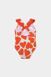 Bobo Choses - All Over Hearts Baby Swimsuit 12000104