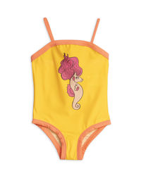 Mini Rodini - Seahorse SP swimsuit, Yellow