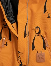 Mini Rodini - Kebnekaise penguin overall, Brown