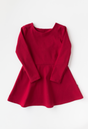 Kaiko - Bow dress, red