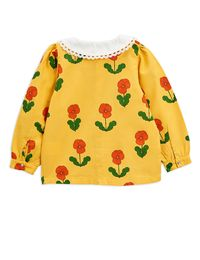 Mini Rodini - Violas woven blouse, Yellow