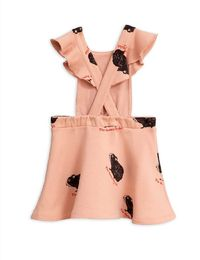 Mini Rodini - Guinea pig dress, Pink
