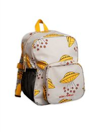 Mini Rodini - UFO school bag, grey