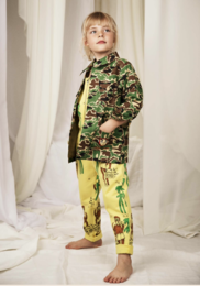 Mini Rodini - Safari jacket, Green