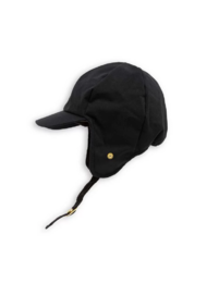 Mini Rodini - Alaska cap, Black