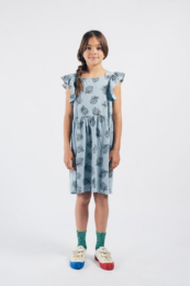 Bobo Choses - All Over Pineapple Jersey Ruffle Dress 12001117
