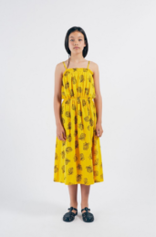 Bobo Choses - All Over Pineapple Jersey Dress 12001114