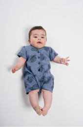 Bobo Choses -  All Over Pineapple Playsuit 12000035