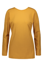 Kaiko - Woman Cross Shirt Ls, Ochre
