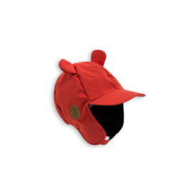 mini rodini - Alaska ear cap, red