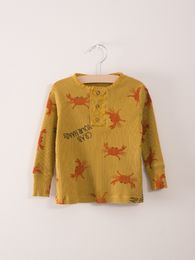 Bobo Choses - Baby Buttons T-Shirt Crab your h