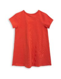 mini rodini - Basic dress, red