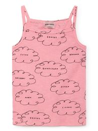 Bobo Choses - Clouds Set T-Shirt and Brief, strawberry