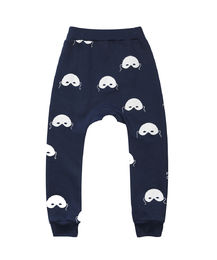 Beau LOves - Davenport pants masks, midnight blue