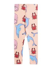 Mini Rodini - Dolphin leggings, multi