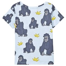 Tao and friends - Gorilla tee, lt blue