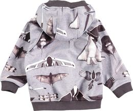 Molo kids - High soft shell jacket, planes and birds