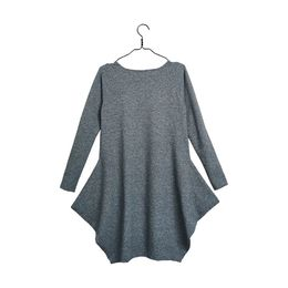 Papu - Kanto dress women, fuzzy grey