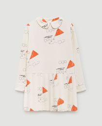 TAO - Canary kids dress white kites