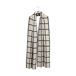 Papu - KNIT OBLONG SCARF GIANT GRID