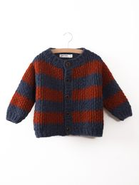 Bobo Choses - Knitted Cardigan big stripes