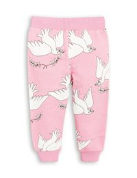 mini rodini - Peace sweatpants, pink