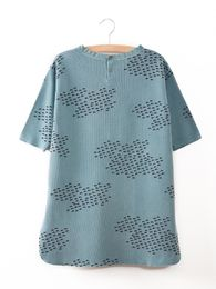 Bobo Choses -  Pocket Dress flocks, smoke