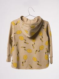 Bobo Choses - Hooded sweatshirt Spoons, antelope