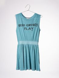 Bobo Choses - Tennis dress Play, turquoise